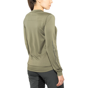 Cube AM Round Neck Jersey longsleeve Dam olive